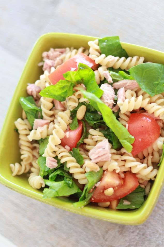 Salade fraîcheur citronnée au thon