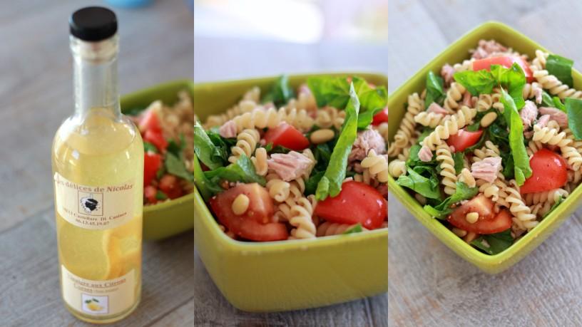 Salade fraîcheur citronnée