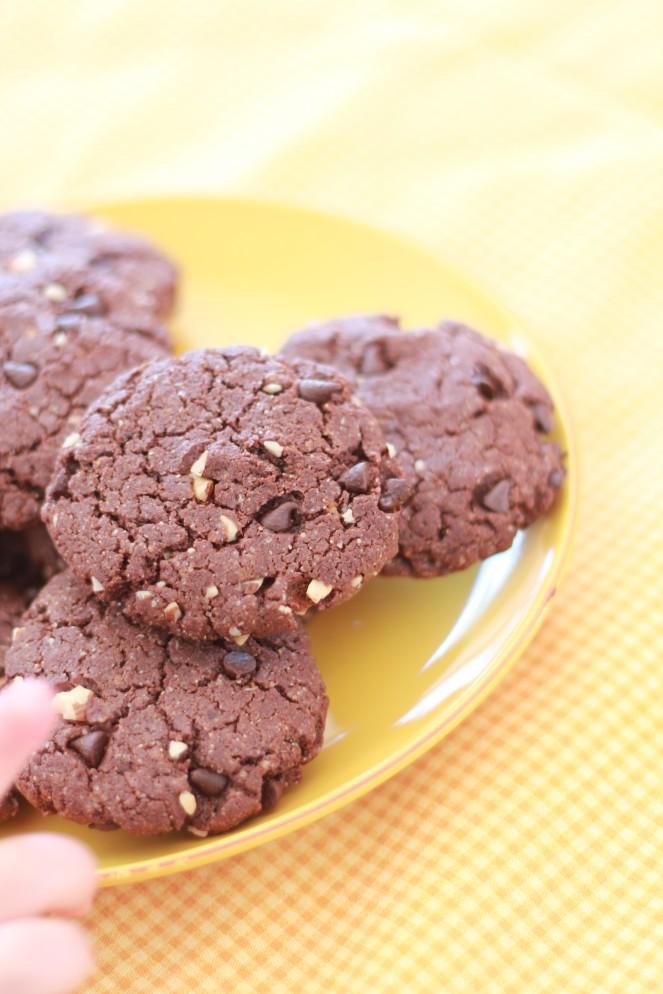 Cookies tout chocolat 2
