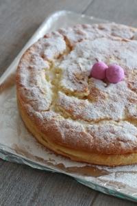 Gâteau magique à la framboise3