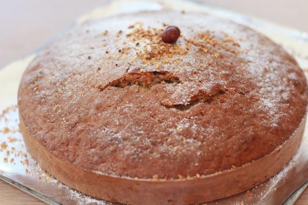 Gâteau carottes-noisettes