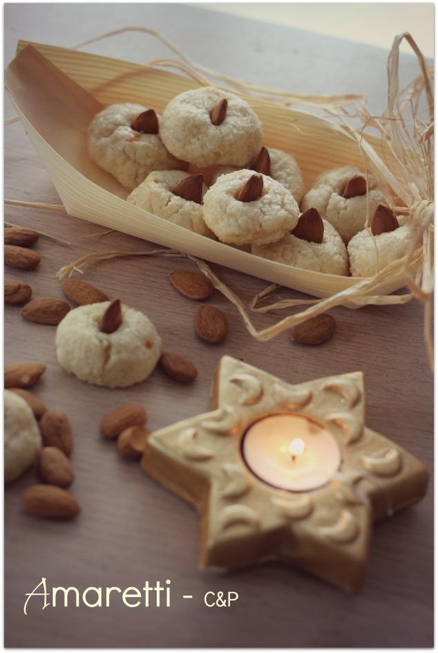 Amaretti [Gâteaux de Noël]