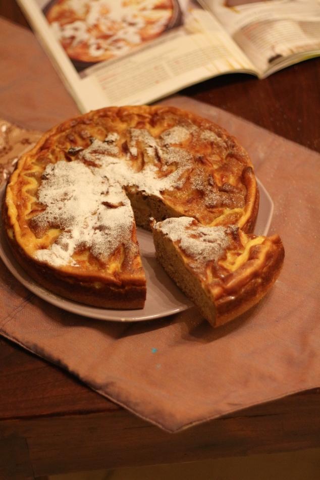 Gâteau pommes 2 cuissons