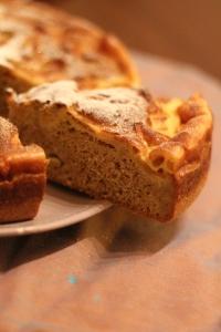 Part Gâteau pommes 2 cuissons