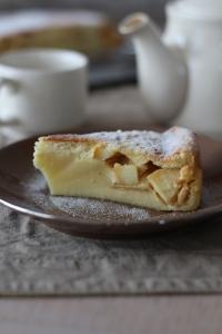 Gâteau magique aux pommes2