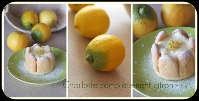 Charlotte au citron montage