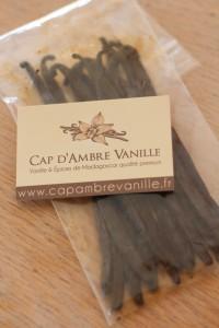 Vanille Cap d'Ambre Vanille