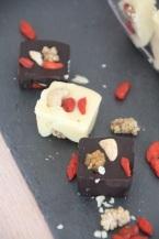 Carrés douceur chocolat et fruits secs