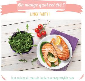 Encart Linky Party on mange quoi