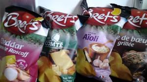 Chips BRET'S : une nouvelle gamme de saveurs