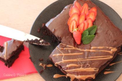 Moelleux au chocolat sans oeufs