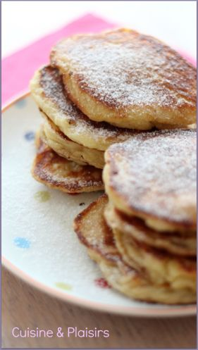 Pancakes moelleux cottage-cheese