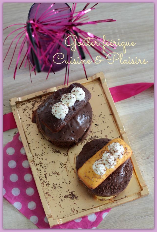 Mini-moelleux façon chocolat liégeois #Concours Ker Cadélac