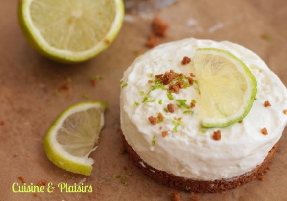 Cheesecake citron vert pic