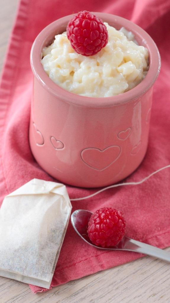 Riz au lait infusé à la cannelle