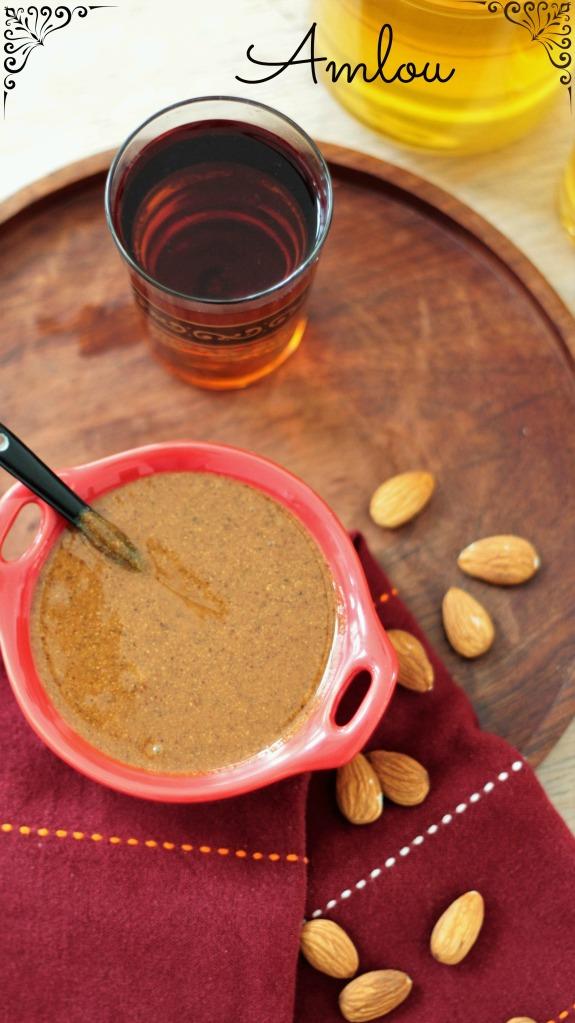 Amlou (amandes, huile d'argan et miel)