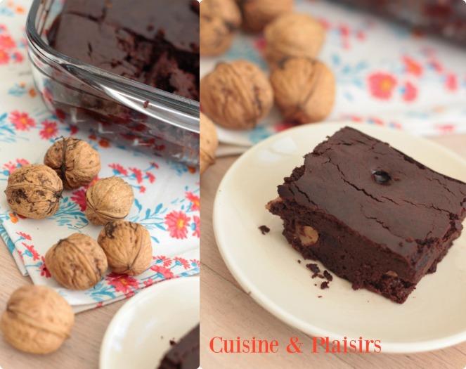 Brownie aux noix (IG bas)