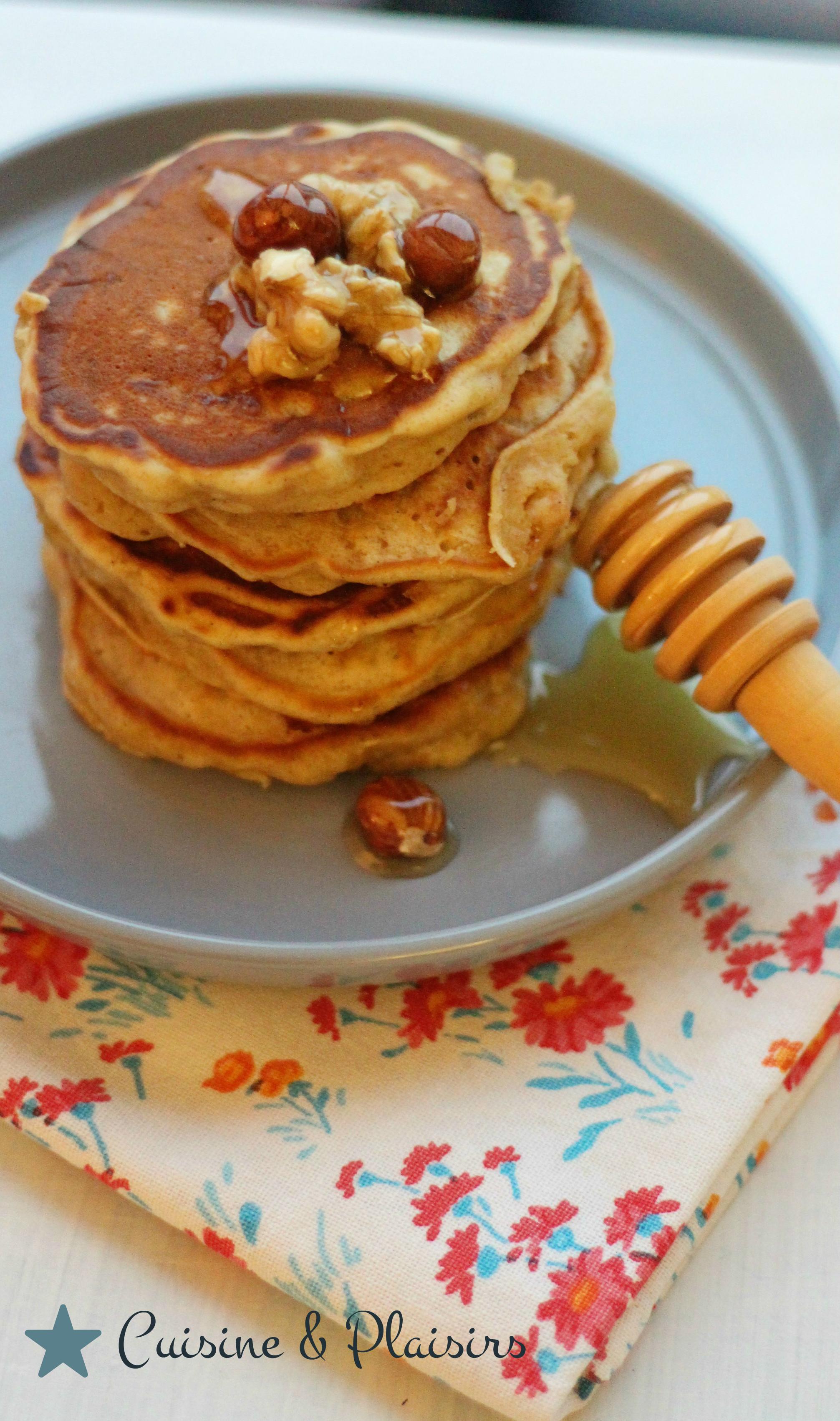 Pancakes moelleux aux pommes
