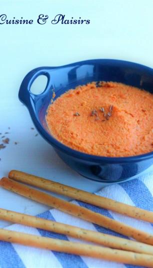 houmous-de-carotte