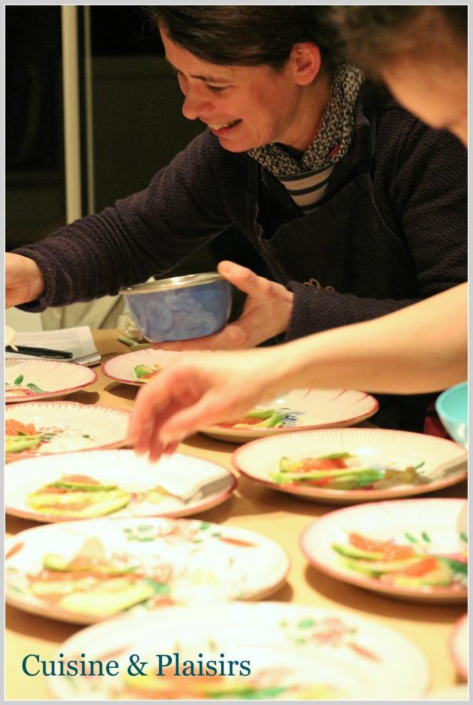 Cuisiner avec…. Nathalie BEAUVAIS – Chef du Jardin Gourmand